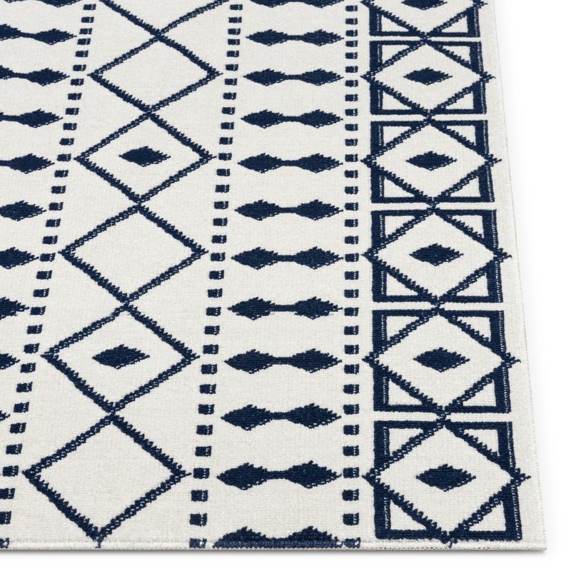 Oliver Contemporary Tribal Ivory Rug