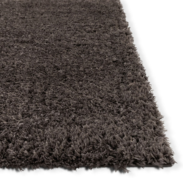 Olympic Peppercorn Grey Modern Shag Rug