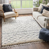 Blossom Moroccan Trellis Ivory Super Soft And Thick Shag Rug
