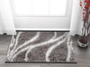 Appreciation Grey Modern Shag Rug