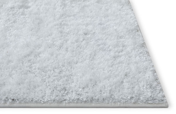 Serenity White Modern Solid Rug