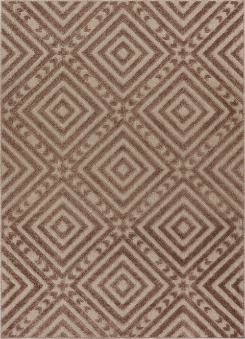 Metier Beige Modern Indoor Outdoor Rug