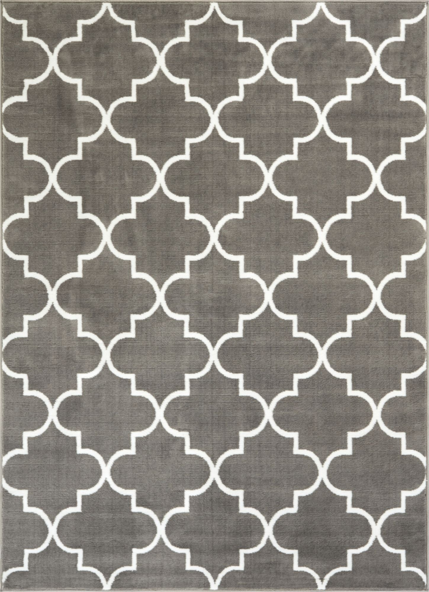 s lattice grey modern rug well woven