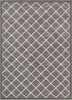 Moto Moroccan Lattice Trellis Grey Rug