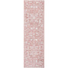 Disa Vintage Medallion Blush Soft Rug By Chill Rugs