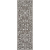 Disa Vintage Medallion Grey Soft Rug By Chill Rugs