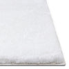 Liza White Plush Shag Rug