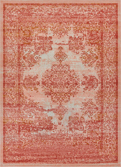 "Cannes Pink Modern 7'10"" x 9'10"" Area Rug"