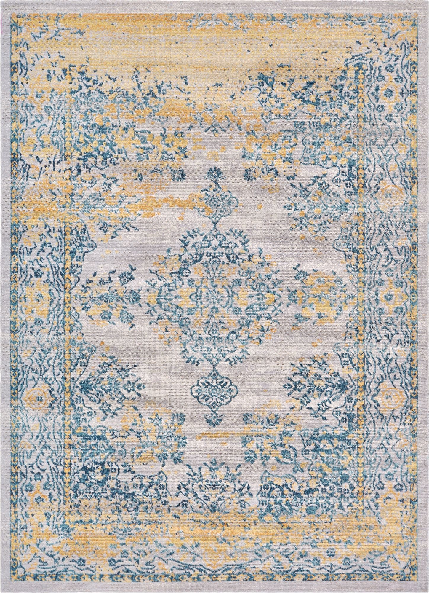 Cannes Ivory Modern Rug Well Woven