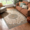 Ana Blue Traditional Rug