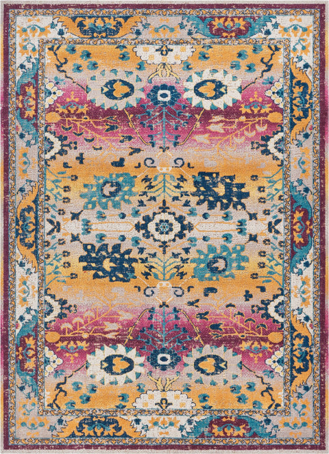Shera Passion Pink Traditional Rug