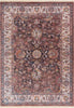 "Earth Brown Vintage Rug 5'3"" x 7'7"""
