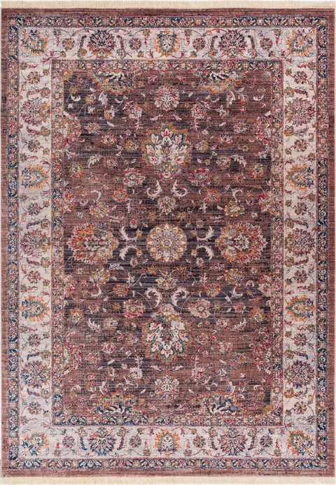 Earth Brown Vintage Rug