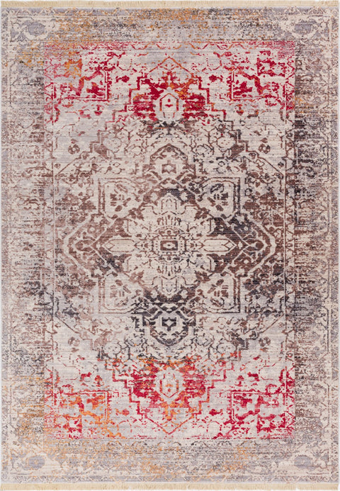 Earth Beige Vintage Rug