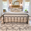 Darcy Modern Farmhouse Tribal Pattern Ivory Rug By Cotton Stem