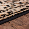 "Leopard Brown Modern 3-Piece Set (5' x 7' and Bonus 20"" x 31""  Mats)"