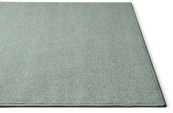 Warby Blue Modern Solid Rug