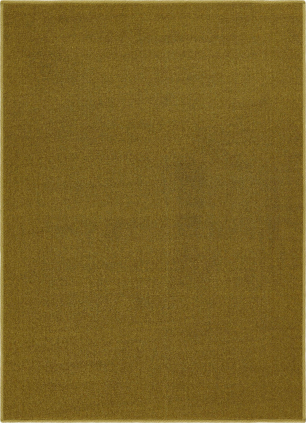 Warby Green Modern Solid Rug