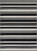 Uni Stripes Grey Modern Rug
