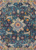 "Wonderly Blue Modern Rug 7'10"" x 9'10"""