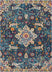 Wonderly Blue Modern Rug 7'10