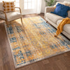 Stratton Yellow Distressed Rug