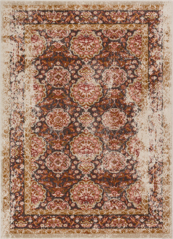 Sorrenti Brown Vintage Rug