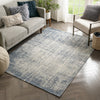 "Atri Modern Distressed Abstract Beige Kilim-Style 5'3"" x 7'3"" Rug"