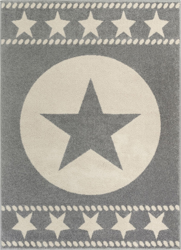 Sparrow Grey Modern Novelty Rug
