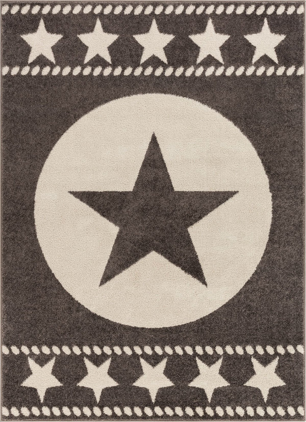 Sparrow Brown Modern Novelty Rug