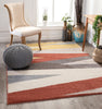 Yuma Modern Abstract Terracotta Rug