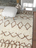 Parley Natural Modern Moroccan Shag Rug By Chill Rugs