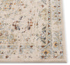 Kian Cream Vintage Panel Distressed Rug