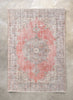 "Cemil Rust Red Oriental Floral Medallion One-of-a-Kind Handmade Wool Area Rug 6'11"" x 10'2"""