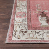 "Berrak Red & Ivory Oriental Medallion One-of-a-Kind Handmade Wool Area Rug 6'4"" x 9'4"""