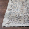 "Beatrice Beige Oriental Medallion One-of-a-Kind Handmade Wool Area Rug 5'7"" x 9'4"""