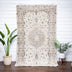Beatrice Beige Oriental Medallion One-of-a-Kind Handmade Wool Area Rug 5'7