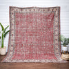 "Abrielle Rust Red Persian Medallion One-of-a-Kind Handmade Wool Area Rug 8'10"" x 11'4"""