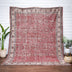 Abrielle Rust Red Persian Medallion One-of-a-Kind Handmade Wool Area Rug 8'10