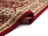Tabriz Red Traditional Rug