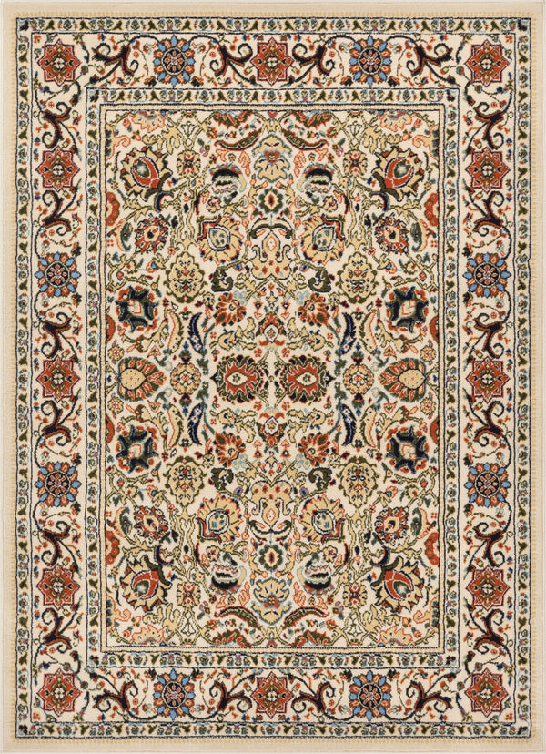 Tabriz Traditional Ivory Rug