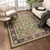Tabriz Traditional Green Rug