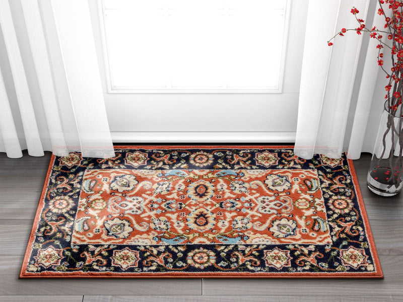 Tabriz Traditional Terracotta Rug
