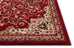 Isfahan Red Traditional Rug