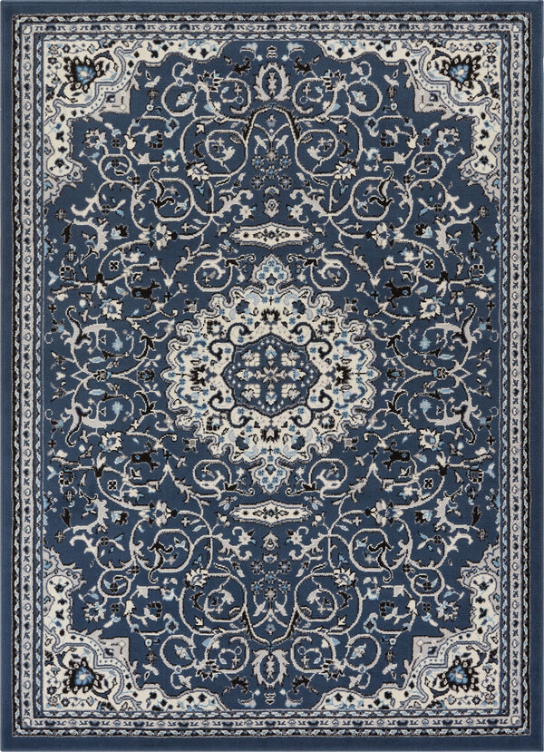 Isfahan Blue Traditional Rug