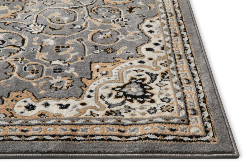 Isfahan Grey Traditional Rug