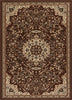 Isfahan Brown Traditional Rug