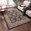 Shiraz Navy Traditional Rug