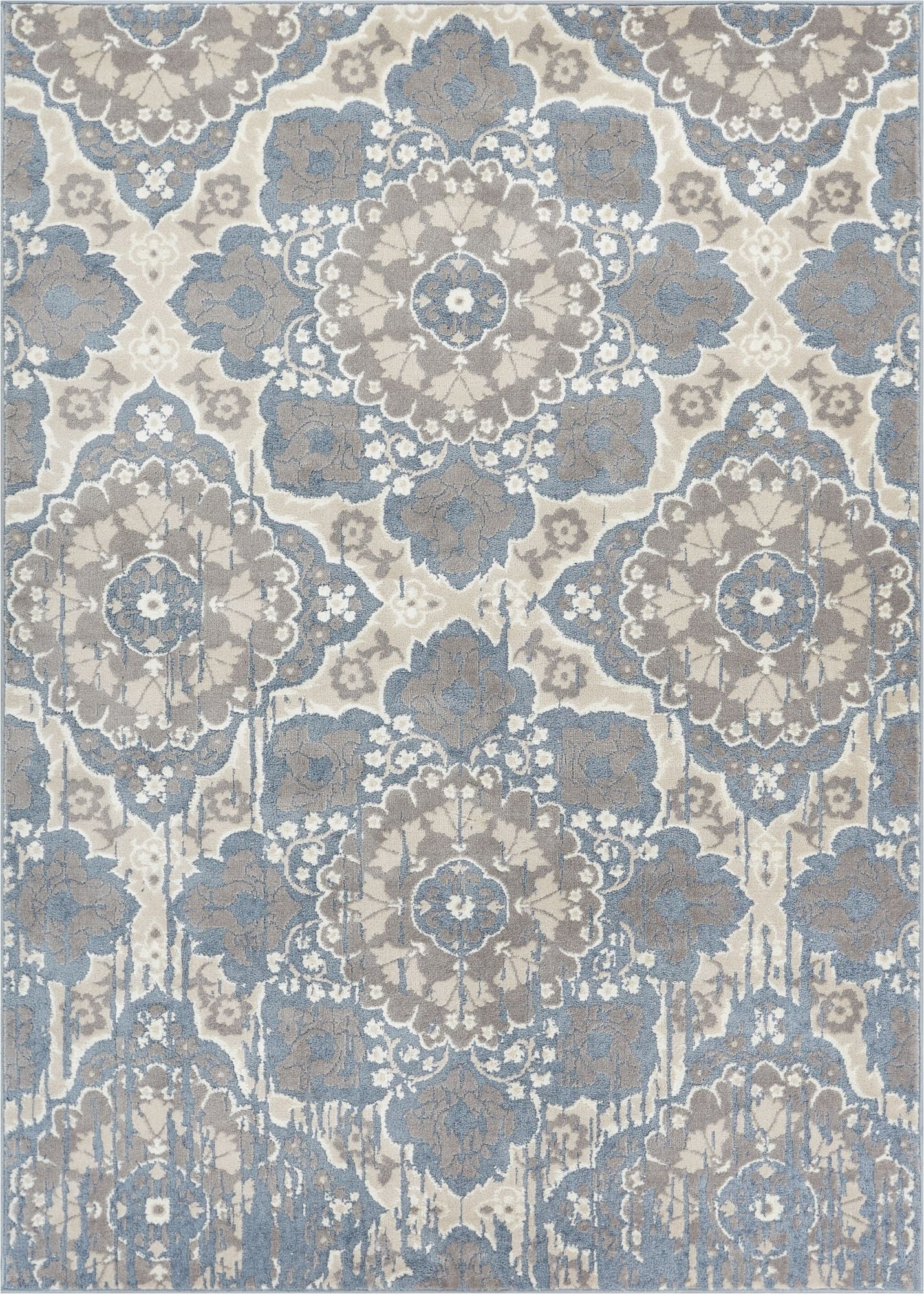 Melody Blue Modern Rug Well Woven