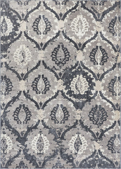 Felize Dark Grey Modern Rug